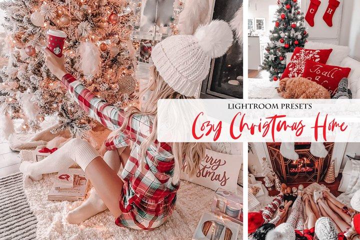 Cozy Christmas Home Lightroom Presets