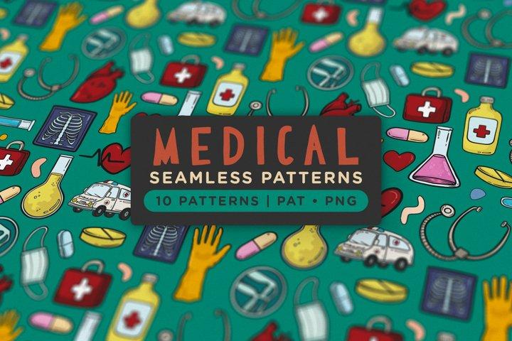 Medical Seamless Patterns