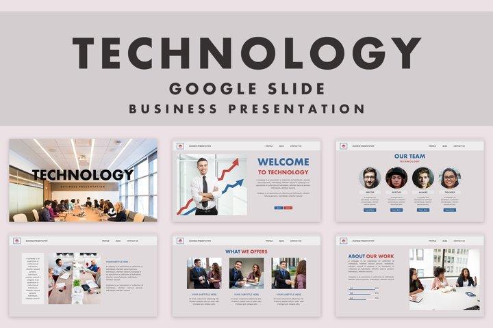 Technology | Google Slide Template