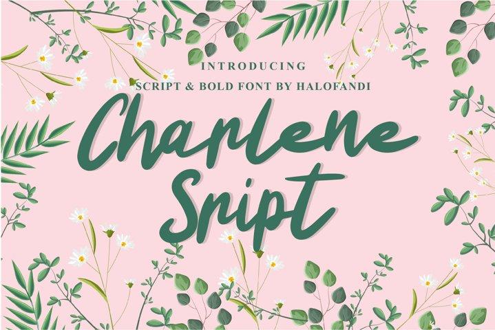 Charlene Script