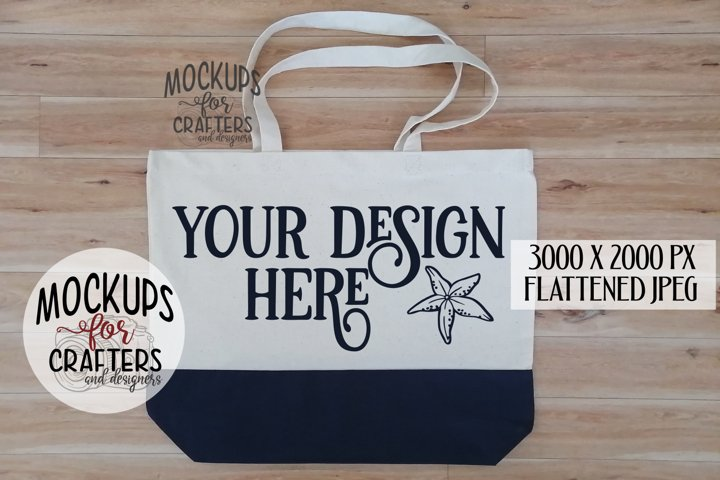 Tote Bag, Mock-Up,