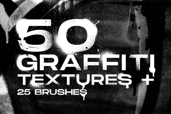 Graffiti brushes and textures