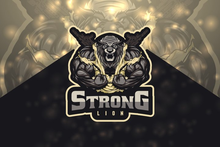 Strong Lion Esport Logo
