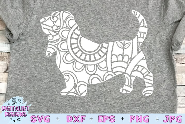 Beagle SVG   Dog SVG   Mandala SVG