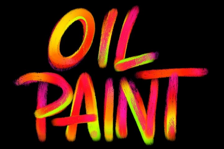 Procreate Brushset - Oil Paints| Design 2 Last