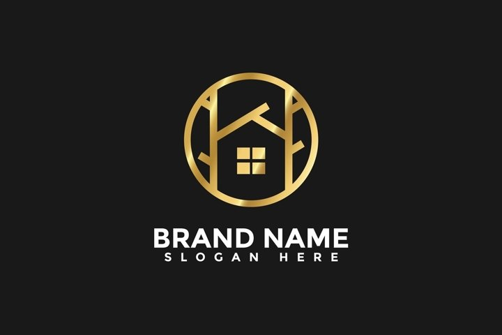 Home Real estate Logo vector template