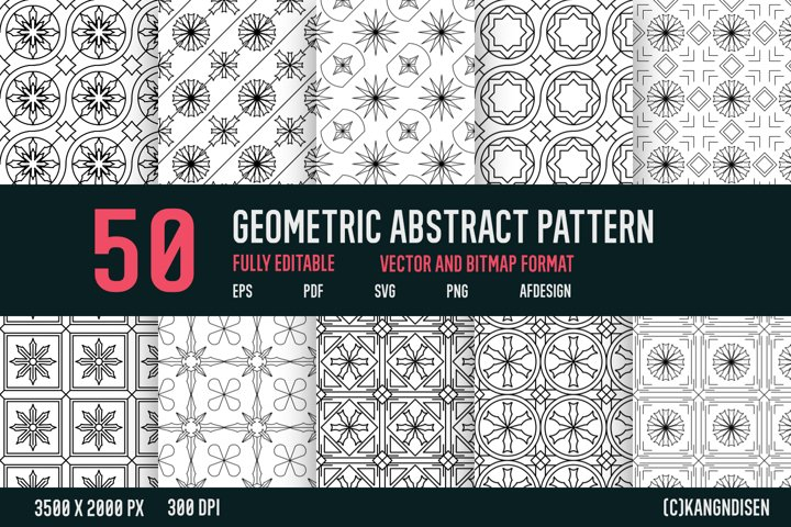 GEOMETRIC ABSTRACT PATTERN V-1