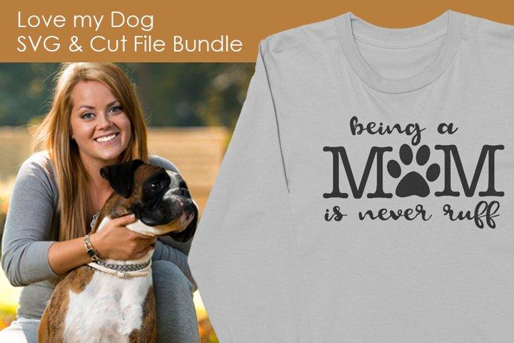 Love my Dog Bundle - Free Design of The Week Design0