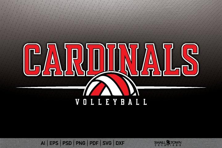 Cardinal, Cardinal Volleyball svg, PRINT, CUT & DESIGN