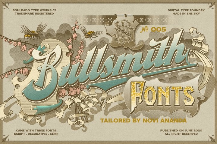 NS BULLSMITH Fonts