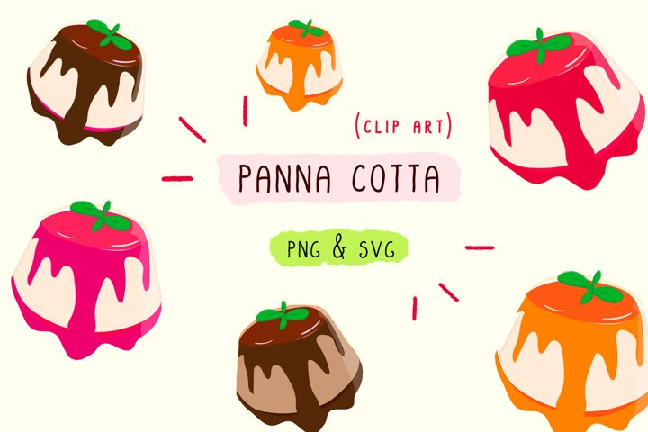 Sublimation Vector Food Clip Art Dessert Illustration Design