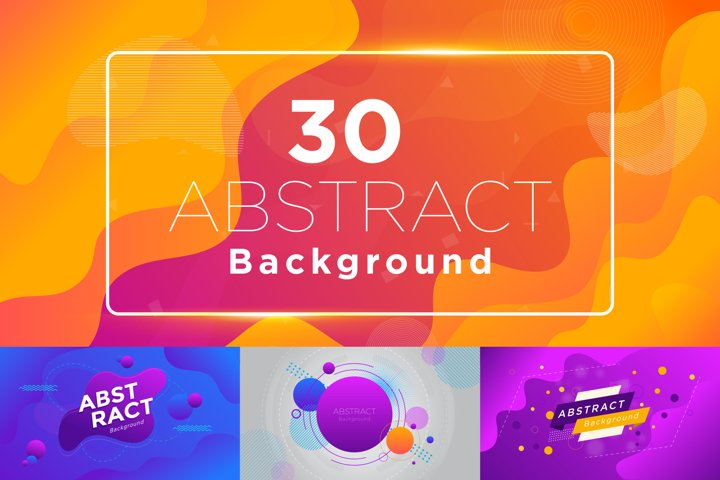 30 Modern Abstract Background