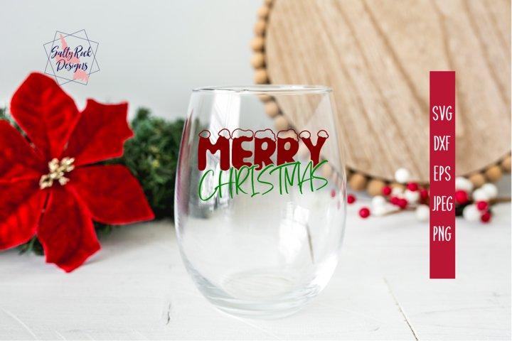 Merry Christmas SVG, Christmas SVG, Christmas Digital Cut