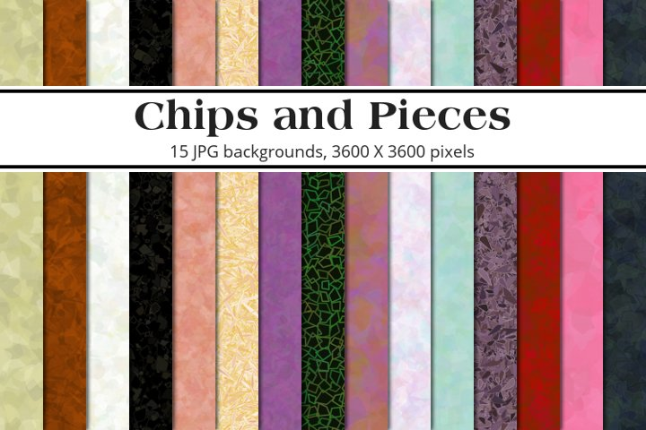 Chips and Pieces Background Pack