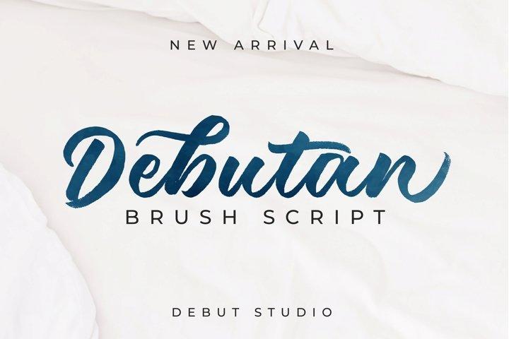 Debutan Brush Script
