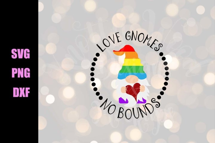 Pride SVG - Love gnomes - Downloadable PNG, DXF, SVG, EP