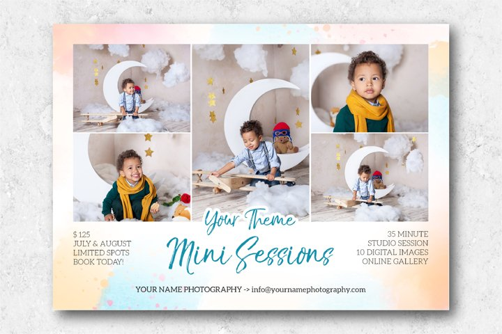 Mini Sessions Marketing Template