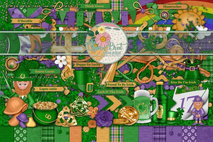 Luck O The Irish Scrap Kit