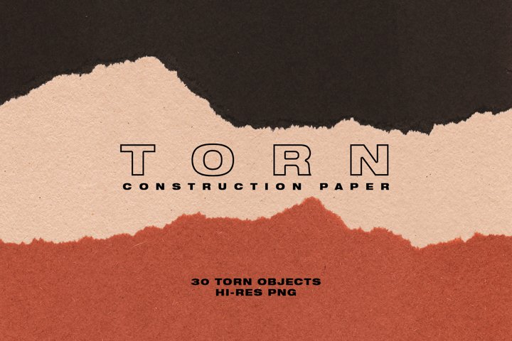 Torn Construction Paper