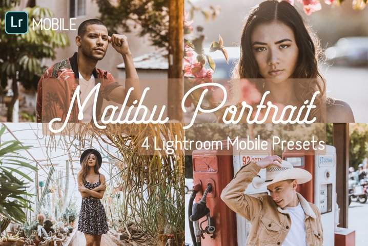 Malibu Portrait Mobile Lightroom Presets