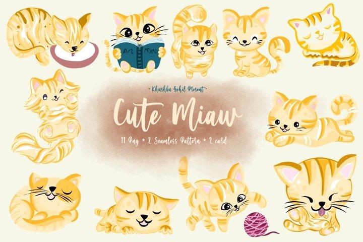 Cute miaw