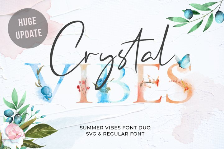 Crystal Vibes - SVG & Regular