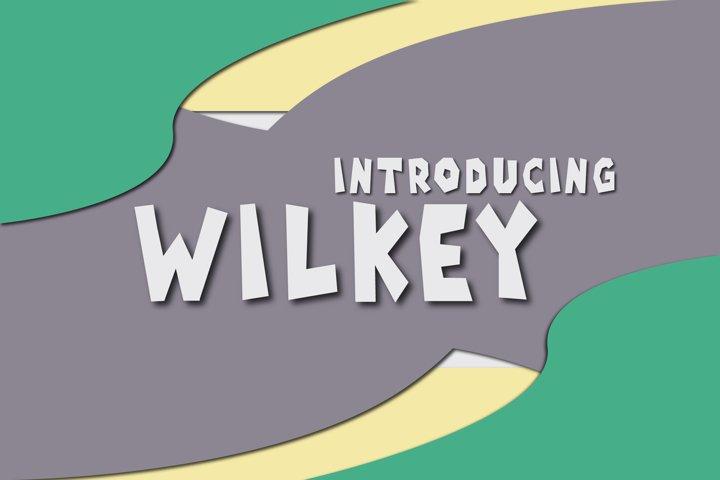 Wilkey Typeface