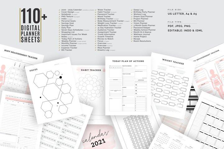 The Ultimate Planner Bundle Pack Vol.05