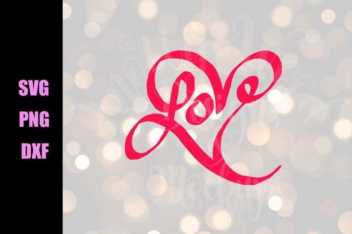 Valentine SVG - Love - Downloadable PNG, DXF, SVG