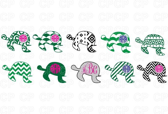 Sea Turtle Bundle SVG Cut Files, Turtle Clipart