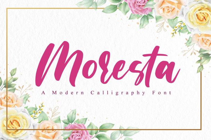 Moresta Script