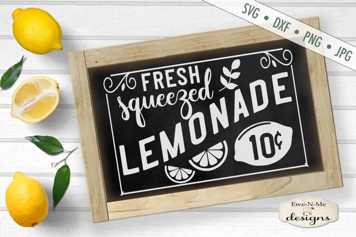 Fresh Squeezed Lemonade - Summer - SVG