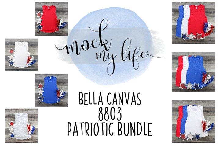 Mockup Patriotic Bundle - Bella Canvas 8803
