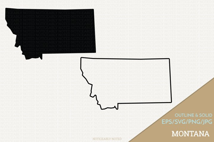 Montana Vector / Clip Art