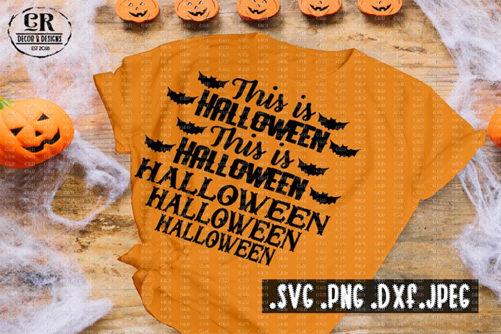 This is Halloween Svg, Halloween song svg,
