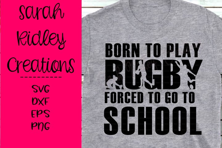 Born to Play RugbyForced to go to School, Rugby SVG, Sports