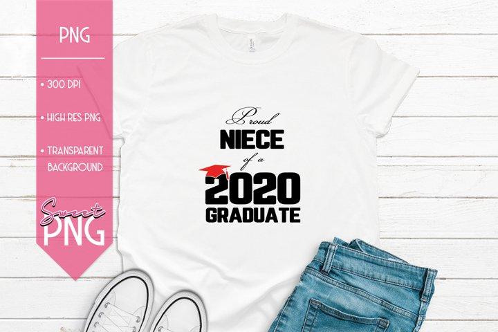 Proud Niece of a 2020 Graduate
