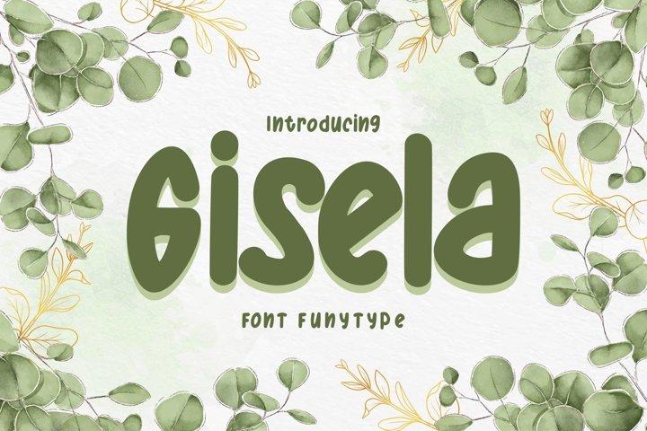 Gisela | Font FunyType