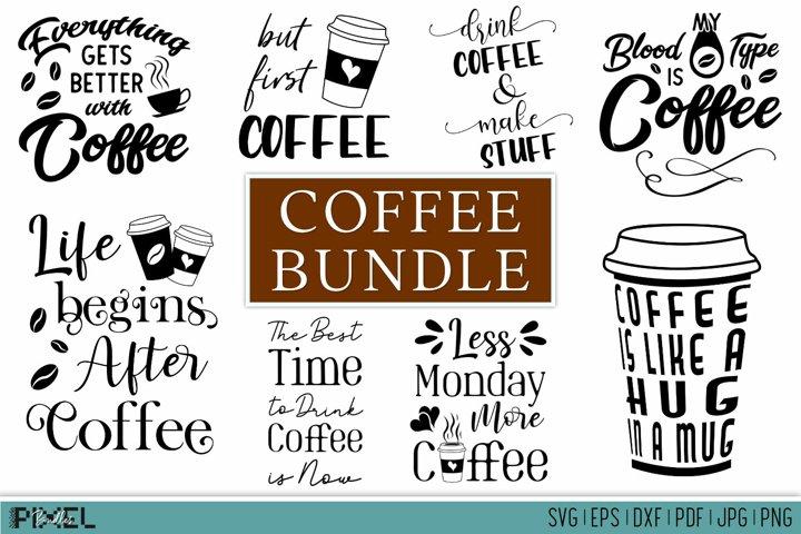 Coffee Bundle Coffee SVG Bundle Funny Coffee Bundle Kitchen