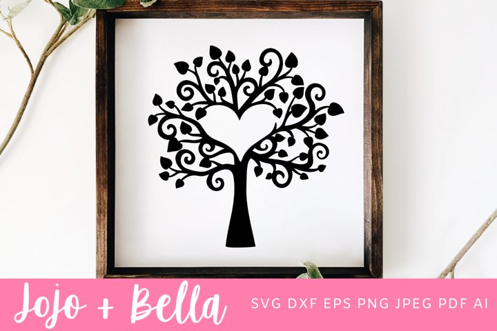 Heart Svg | Family Tree SVG | Tree SVG