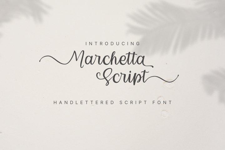 Marchetta Script
