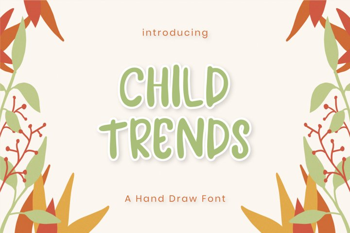 Child Trends Font