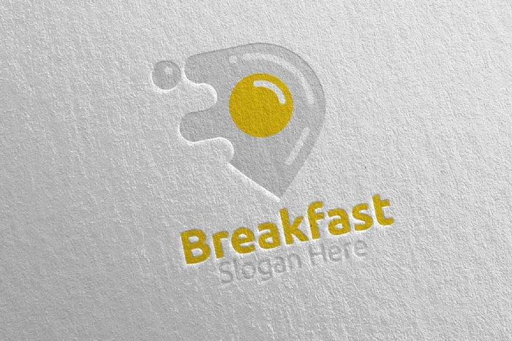 Breakfast Fast Food Delivery Logo 8