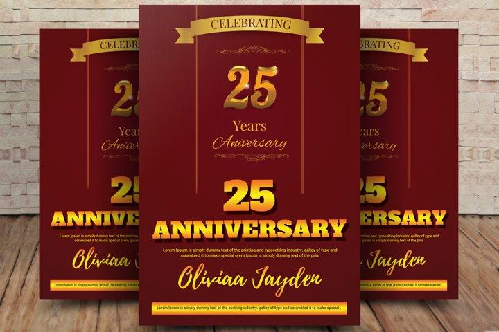 Golden Anniversary Flyer