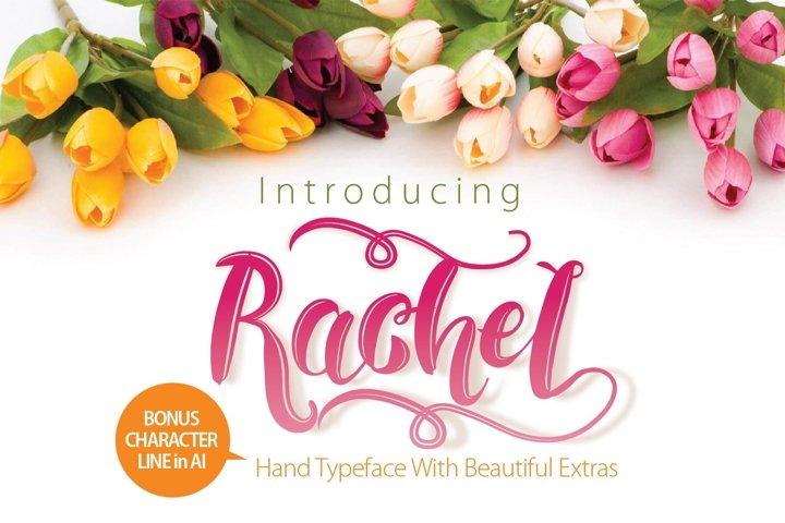 RACHEL  - Free Font of The Week Font