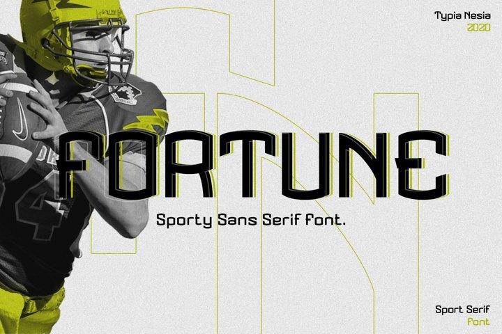 Fortune - Sport Font