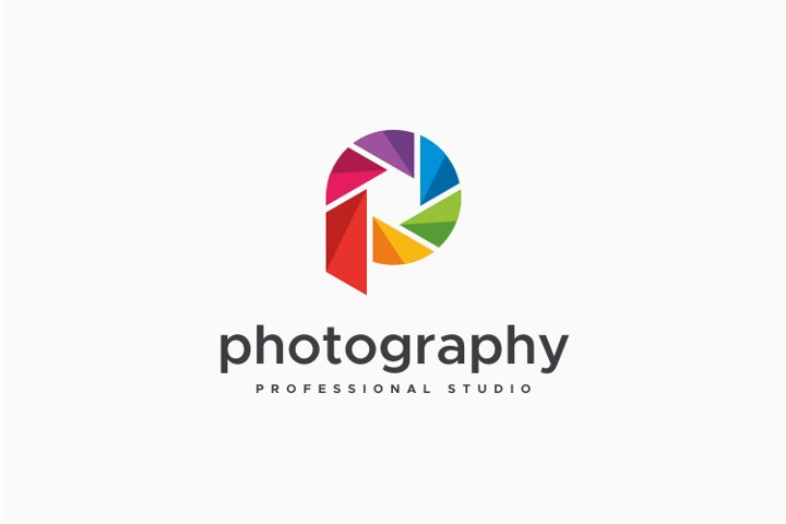 Photography - Letter P Logo