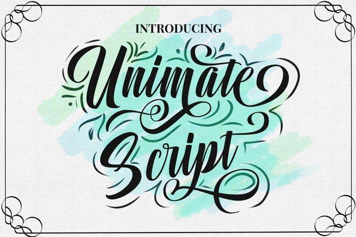 Unimate Script