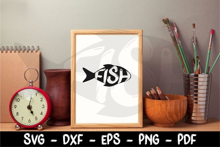Fishing Svg, Fish Svg, Fish clipart