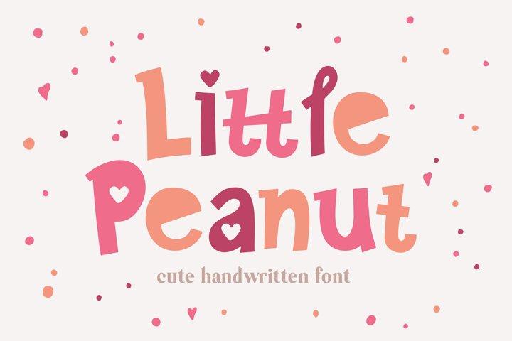 Little Peanut Handwritten Font